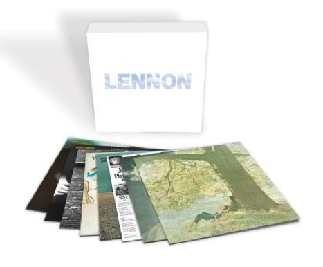 JOHN LENNON'S REMASTERED BOXED COLLECTION OUT JUNE 8TH