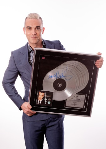 ROBBIE WILLIAMS AND BONHAMS ANNOUNCE A CHARITY AUCTION OF 150 OF HIS PERSONAL POSSESSIONS ON JULY 15 IN AID OF THE DONNA LOUISE CHILDREN'S HOSPICE
