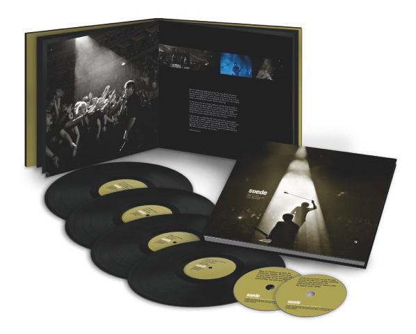 SUEDE TO RELEASE DOG MAN STAR 20TH ANNIVERSARY LIVE FROM THE ROYAL ALBERT HALL ON VINYL AND CD