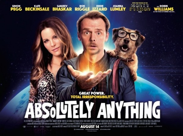 KYLIE SINGS TITLE TRACK 'ABSOLUTELY ANYTHING AND ANYTHING AT ALL' FROM THE NEW TERRY JONES FILM 'ABSOLUTELY ANYTHING' THE TRACK IS AVAILABLE NOW
