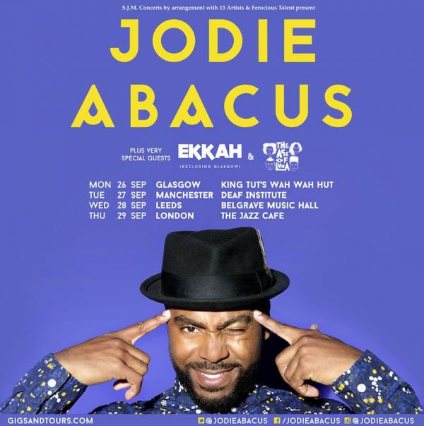 JODIE ABACUS ANNOUNCES 2016 HEADLINE UK TOUR