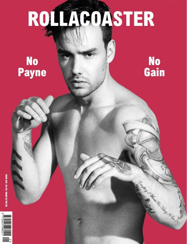 LIAM PAYNE IS THE NEW COVER STAR OF ROLLACOASTER