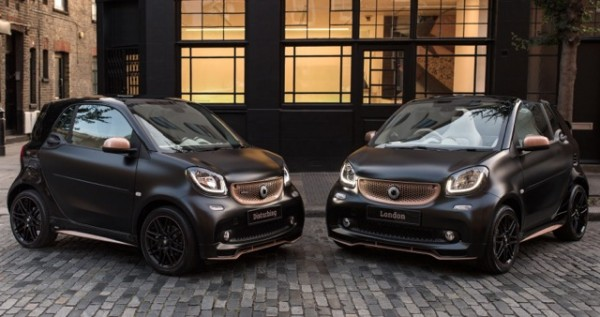 DISTURBING LONDON AND SMART COLLABORATE TO CREATE TWO UNIQUE SMART BRABUS FORTWO MODELS