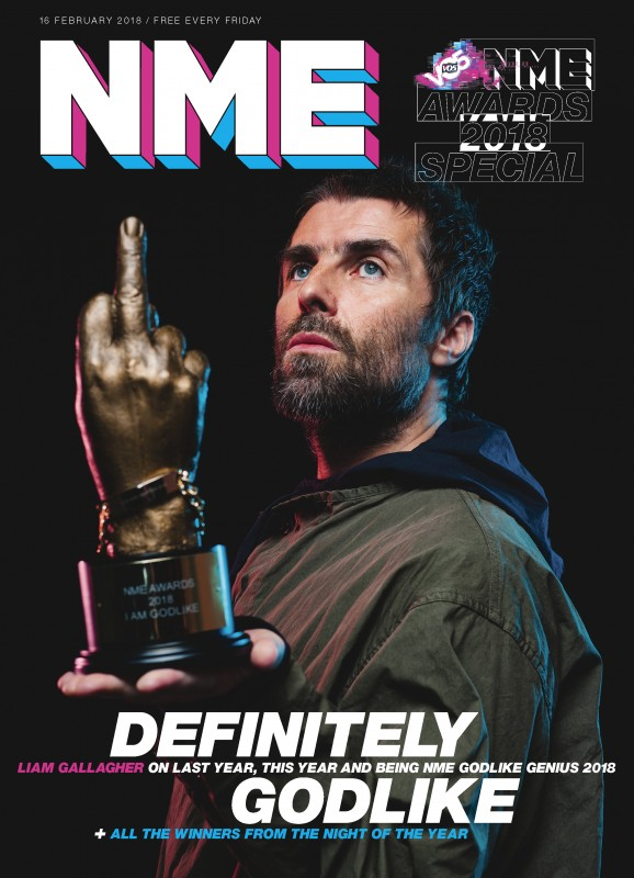 LIAM GALLAGHER   VO5 NME AWARDS - GODLIKE GENIUS INTERVIEW EXTRACTS