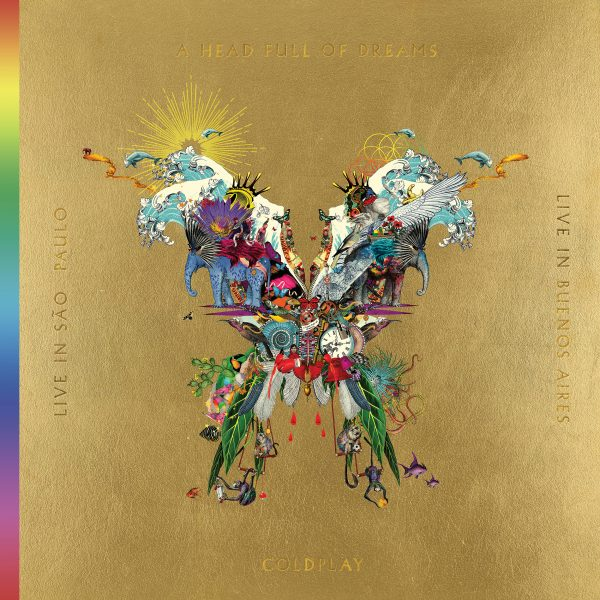 NEW COLDPLAY LIVE ALBUM, CONCERT FILM & DOCUMENTARY OUT TODAY