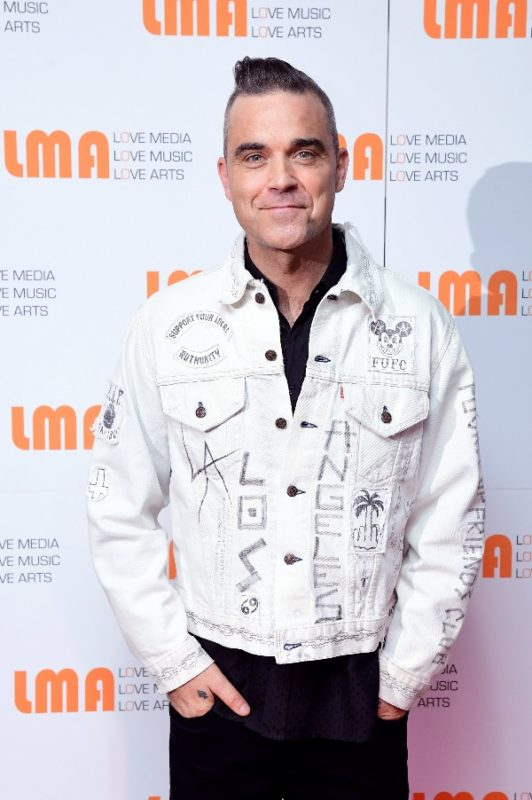 ROBBIE WILLIAMS BECOMES A CO-OWNER OF LMA, THE UNIVERSITY CENTRE FOR MUSIC, PERFORMING ARTS AND CREATIVE MEDIA