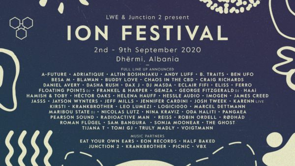 ION ALBANIA ANNOUNCES ITS HEADLINERS AND FULL LINEUP