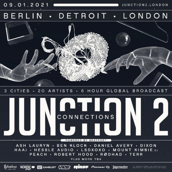 JUNCTION 2: CONNECTIONS  - JUNCTION 2 FESTIVAL PRESENTS THE GLOBAL VIRTUAL EVENT ON JANUARY 9 2021