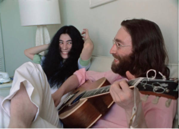 "FIRST-EVER PERFORMANCE OF JOHN LENNON & YOKO ONO LENNON'S LEGENDARY PEACE ANTHEM ""GIVE PEACE A CHANCE"" REVEALED IN NEW NEVER-BEFORE-SEEN VIDEO"